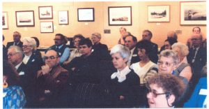 audience at a branch meeting in the 1980s