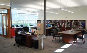 photo of reading room at Lennox and Addington County Archives